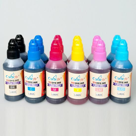 High quality photographic RC UV dye ink