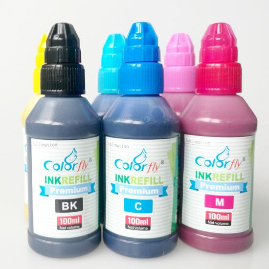 Sublimation ink for Epson desktop inkjet printers