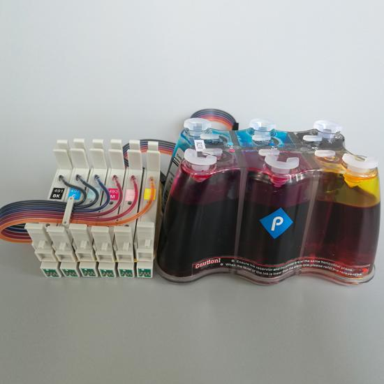 Continuous ink supply system( CISS)  for Epson R230/R200/R320/RX500/R510/RX630/RX650 desktop inkjet printer