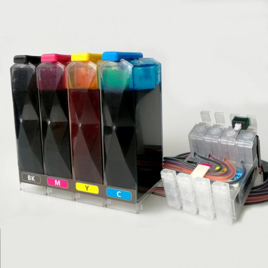Continuous ink supply system( CISS) for Epson-7011/WF-7511/WF-7521/WF-3521  desktop inkjet printer