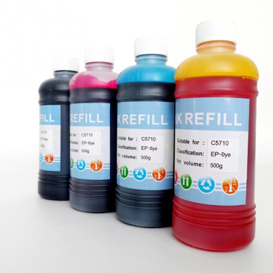 Customized Epson Printer Ink,Epson WF-C5710 Ink,Epson Dye