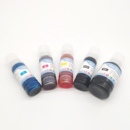 Epson ink refill bottle 105/106 for  Ecotank ET-7750/ET-7700 five color Inkjet printers