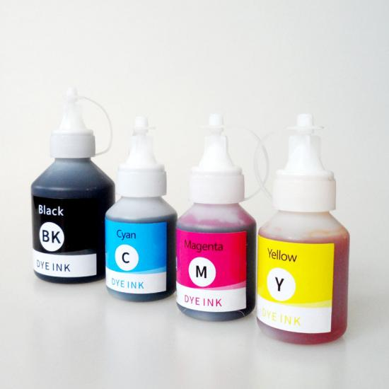 Hot sale ink refill bottle BT6000BK, BT5000C, BT5000M, BT5000Y for Brother DCP-T300, DCP-T500W, DCP-T700W, MFC-T800W printers